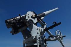 Anti-aircraft guns Royalty Free Stock Images