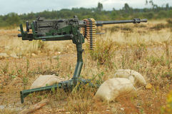 Anti-Aircraft Machine Gun Royalty Free Stock Image