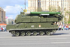 Anti-aircraft missile system BUK-M1 Royalty Free Stock Photo