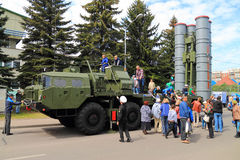 The anti-aircraft missile system S-400 Royalty Free Stock Photos