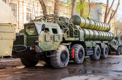 Anti-aircraft missile system (SAM) S-300 Royalty Free Stock Photos