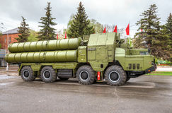 Anti-aircraft missile system (SAM) S-300 Royalty Free Stock Photography