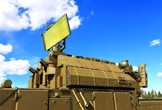 Anti-aircraft missile system Stock Photography