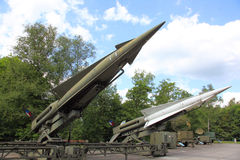Anti Aircraft missiles MIM-14c Nike Hercules Royalty Free Stock Photography