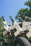 anti aircraft missiles Stock Photography