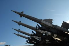 Anti aircraft rocket 5B27 Royalty Free Stock Image