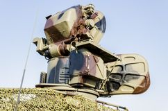 Anti aircraft rocket system Stock Image