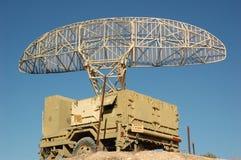 Anti aircrafts radar Stock Images