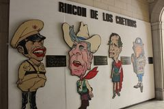 Communist propaganda art in Havana, Cuba stock photography