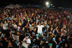 Anti-amnistie Bill Protest Images libres de droits