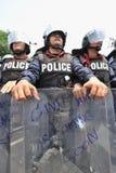 Anti-amnistie Bill Rally à Bangkok Images libres de droits