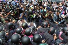 Anti-amnistie Bill Rally à Bangkok Photographie stock libre de droits