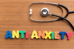 Anti anxiety Stock Images
