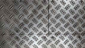 Anti assoalho da folha de metal do deslizamento Imagem de Stock