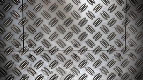 Anti assoalho da folha de metal do deslizamento Fotografia de Stock Royalty Free