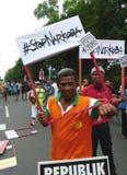 Anti attivisti della droga Immagine Stock Libera da Diritti