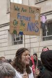 Anti-austérité mars Photos stock