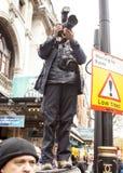 Anti-austérité mars Image libre de droits