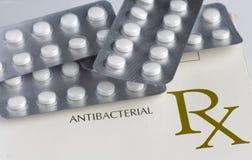 Anti bacterial medication Stock Photo