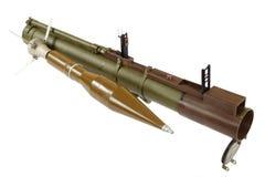 Anti--behållare raket framdriven granatlauncher Arkivbilder