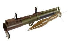 Anti--behållare raket framdriven granatlauncher Royaltyfri Foto