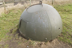 Anti-behållarekuber, försvar för invasion för stenvärldskrig två kust-. Royaltyfri Foto