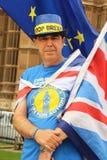 Anti-Brexit protestor em Londres fotografia de stock royalty free