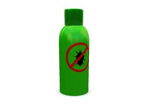 Anti-bug spray Stock Photography