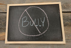 Anti-bullying or no bullying concept Royalty Free Stock Photos