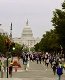 Anti-Bush Demonstrations. Anti-Bush Protests in Washington, D.C Royalty Free Stock Image