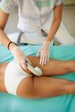 Anti-cellulite treatment Stock Photos