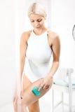 Anti-Cellulitemassage lizenzfreies stockbild
