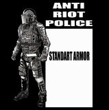 ANTI CHAOS POLICE Stock Photos