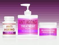 Anti conceito do envelhecimento. Fotos de Stock