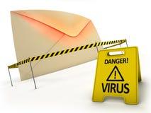 Anti concept de virus Photo libre de droits