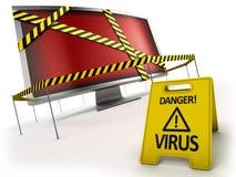 Anti concept de virus Images stock
