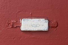 Anti corrosione dell'anodo sacrificale sul guscio fotografia stock