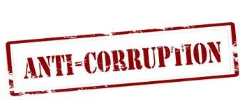 anti corrupção ilustração royalty free