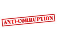 ANTI-CORRUPTION Photos stock