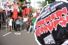 Anti-corruption demonstration Stock Image