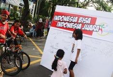 Anti-corruption demonstration Stock Photos