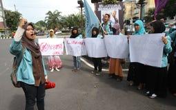 Anti-corruption demonstration Royalty Free Stock Photography