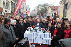 Anti-corruption in Istanbul Stock Image