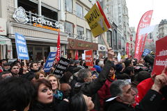Anti-corruption in Istanbul Stock Images