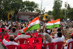 Anti corruption protest in India Royalty Free Stock Photography