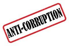 Anti-corruption Stamp  vector illustration