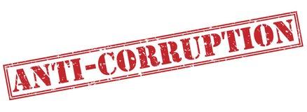 Anti corruption stamp Stock Photos