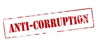 anti corruzione Immagini Stock
