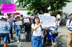 Anti coup. Royalty Free Stock Photo