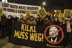 Anti Akademikerball demonstration, Vienna